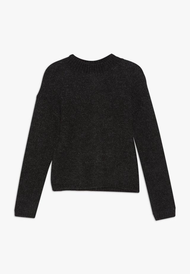 NLFODETTEO - Stickad tröja - black