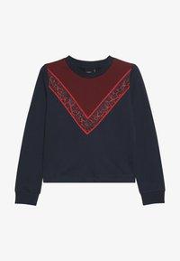 LMTD - NLFRITA SHORT - Sweater - sky captain - 2