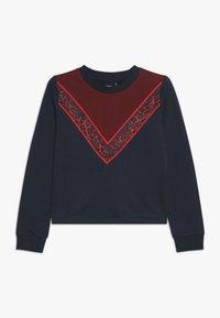 LMTD - NLFRITA SHORT - Sweater - sky captain - 0