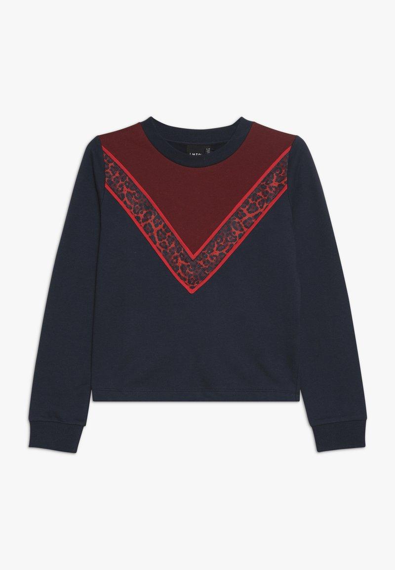 LMTD - NLFRITA SHORT - Sweatshirt - sky captain