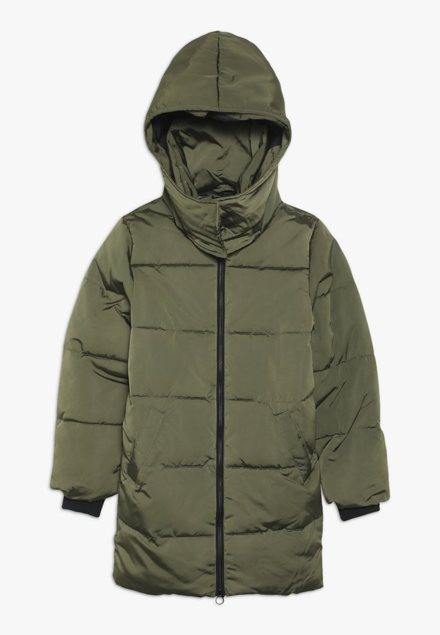 NLFMY LONG JACKET - Vinterkåpe / -frakk - ivy green