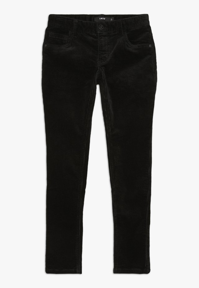 NLMROY PANT  - Trousers - black