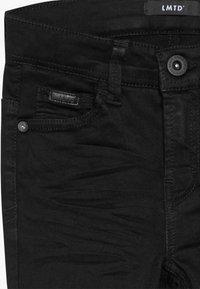 LMTD - NLMPILOU PANT - Jean slim - black denim - 3