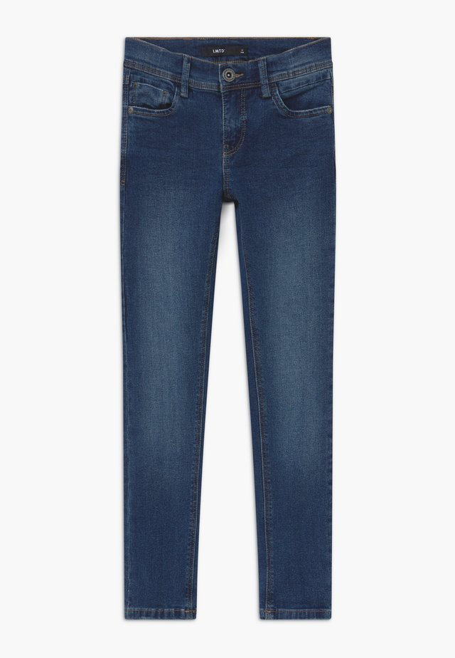NLMPILOU - Slim fit jeans - medium blue denim