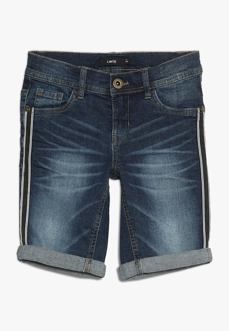 LMTD - NLMSHAUN DNMTANDENCE - Jeans Short / cowboy shorts - dark blue denim