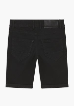 NLMSHAUN - Jeansshort - black denim