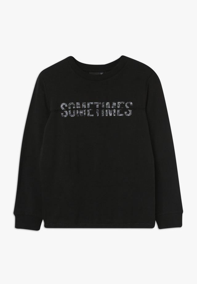 NLMOJAS - Långärmad tröja - black
