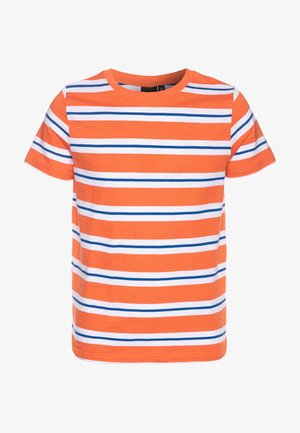 NLMDONNI - Print T-shirt - nasturtium