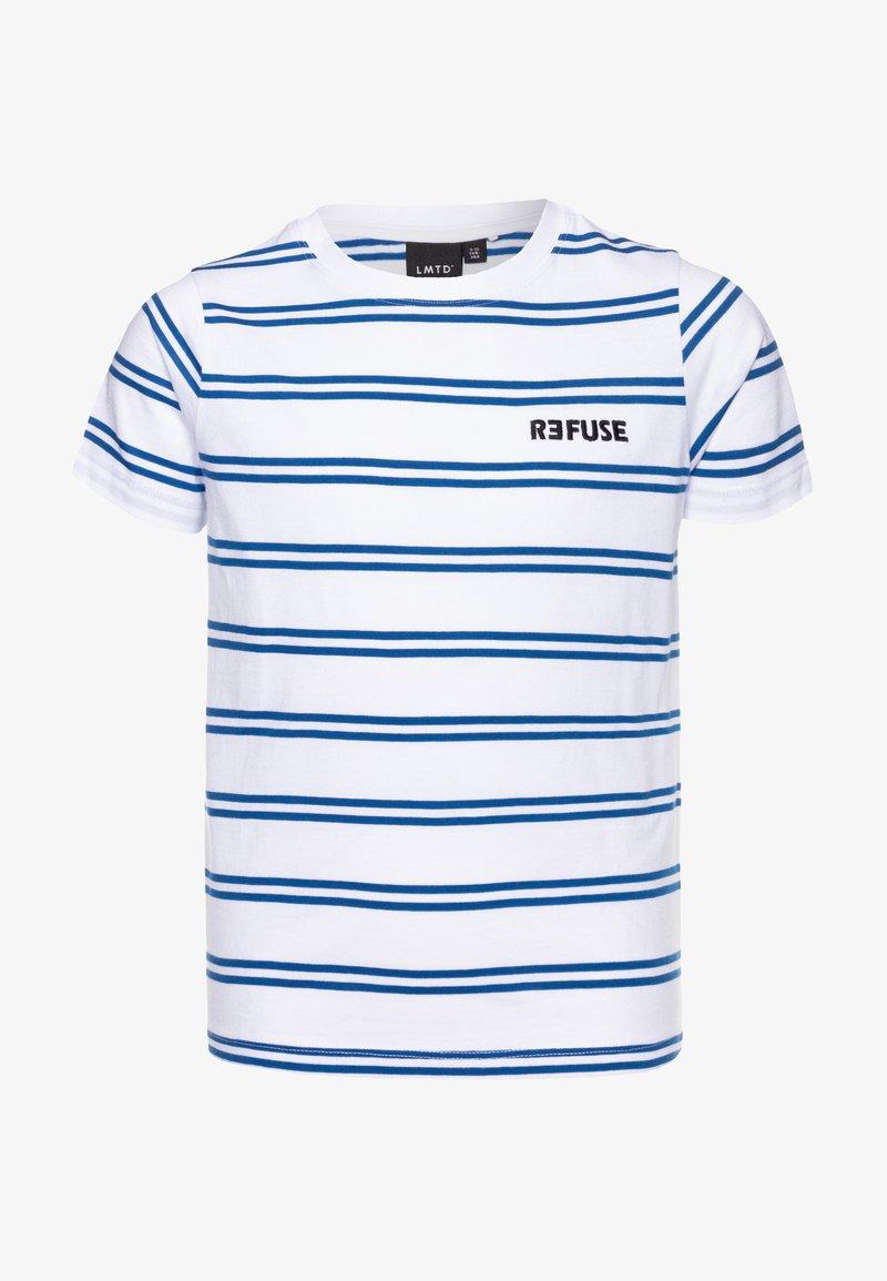 LMTD - NLMFAIK - Print T-shirt - bright white