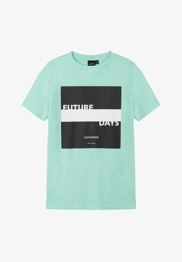 T-Shirt print - ocean wave