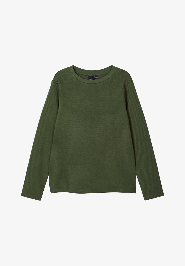 Långärmad tröja - ivy green