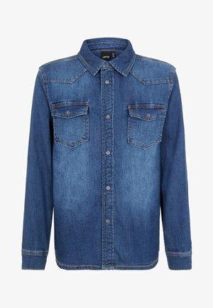 Koszula - dark blue denim