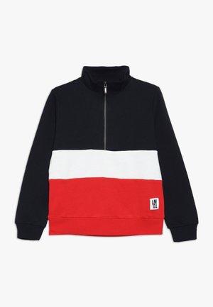 NLMROGER HALF ZIP - Sweatshirt - mars red