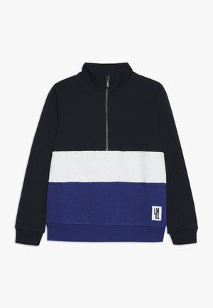 NLMROGER HALF ZIP - Sweatshirt - mazarine blue