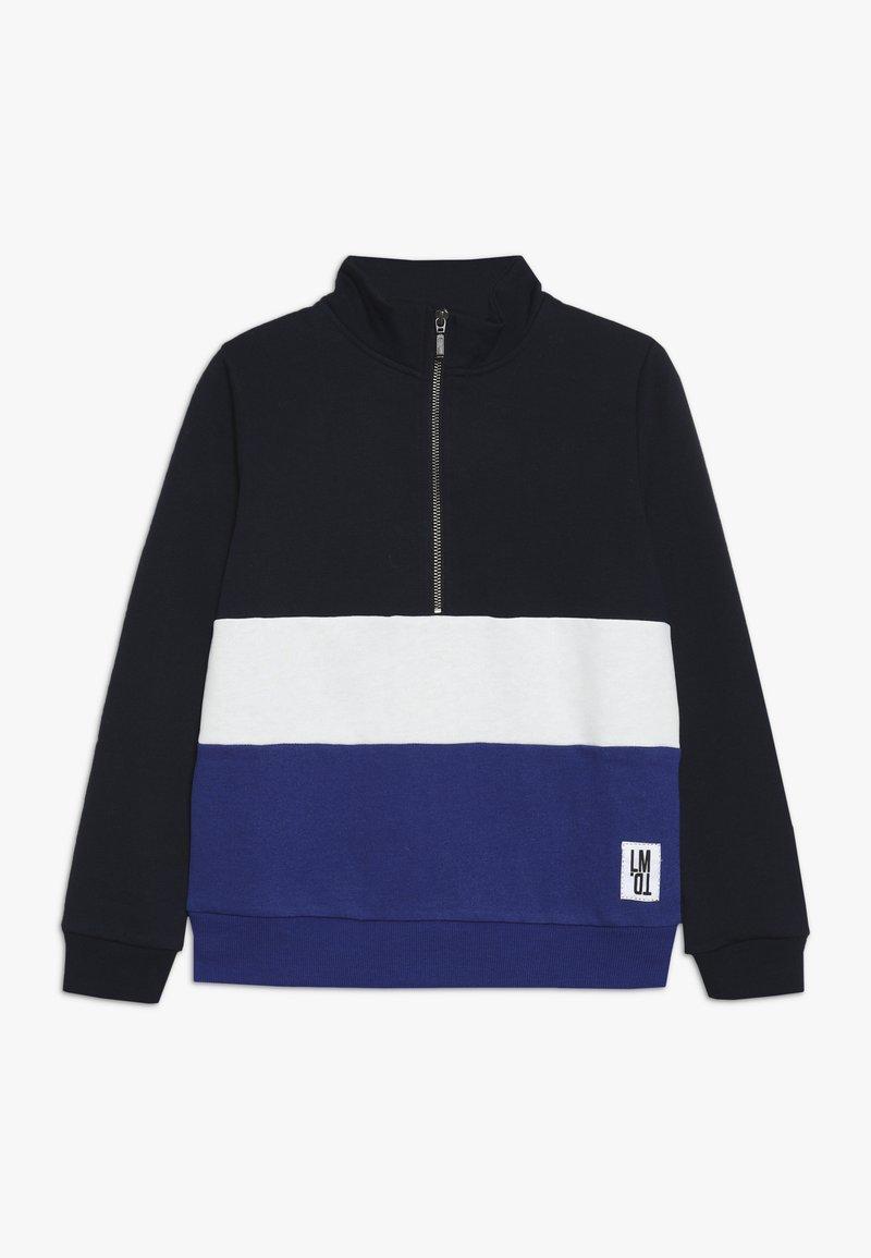 LMTD - NLMROGER HALF ZIP - Sweatshirt - mazarine blue