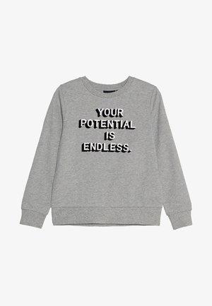 NLMBASSON  - Sweatshirt - grey melange