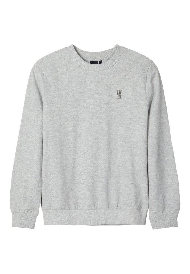 LMTD SWEATSHIRT LMTD-LOGO - Sweatshirt - light grey melange