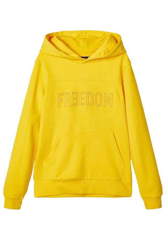 Bluza z kapturem - lemon