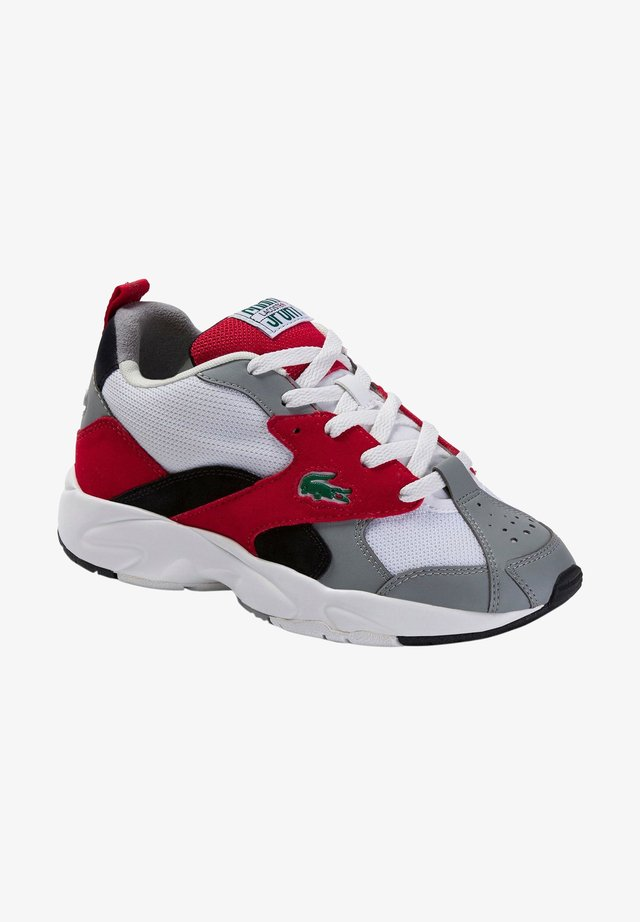 Sneaker low - gry/red