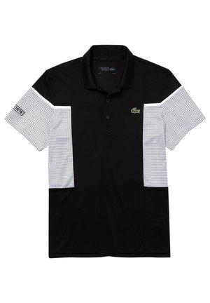 Polo - schwarz/weiß/weiß/schwarz