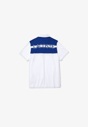 Poloshirt - weiß / blau / weiß