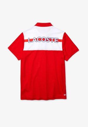 Polo shirt - rot / weiß / blau