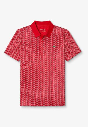YH4790 - Polo shirt - rouge / blanc / blanc