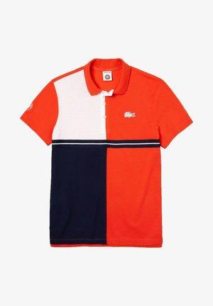 PH3481 - Polo shirt - rouge / bleu marine / blanc