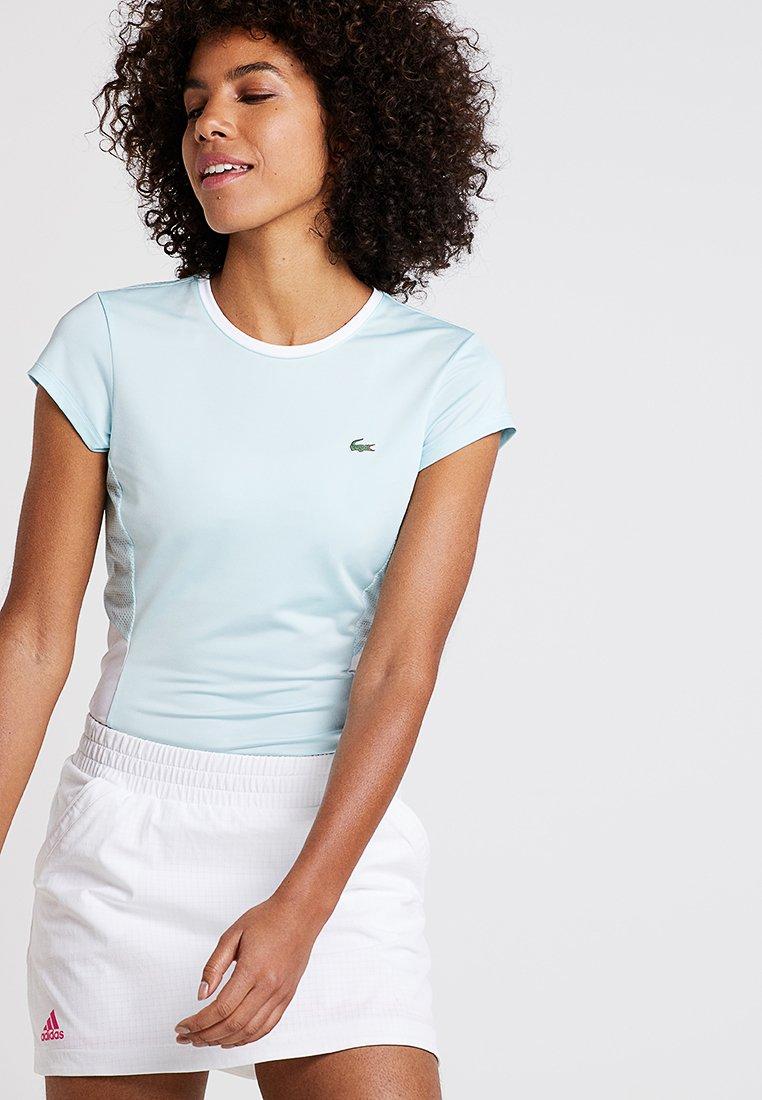 Lacoste Sport - AUSTRALIAN OPEN - T-Shirt print - aquarium/white