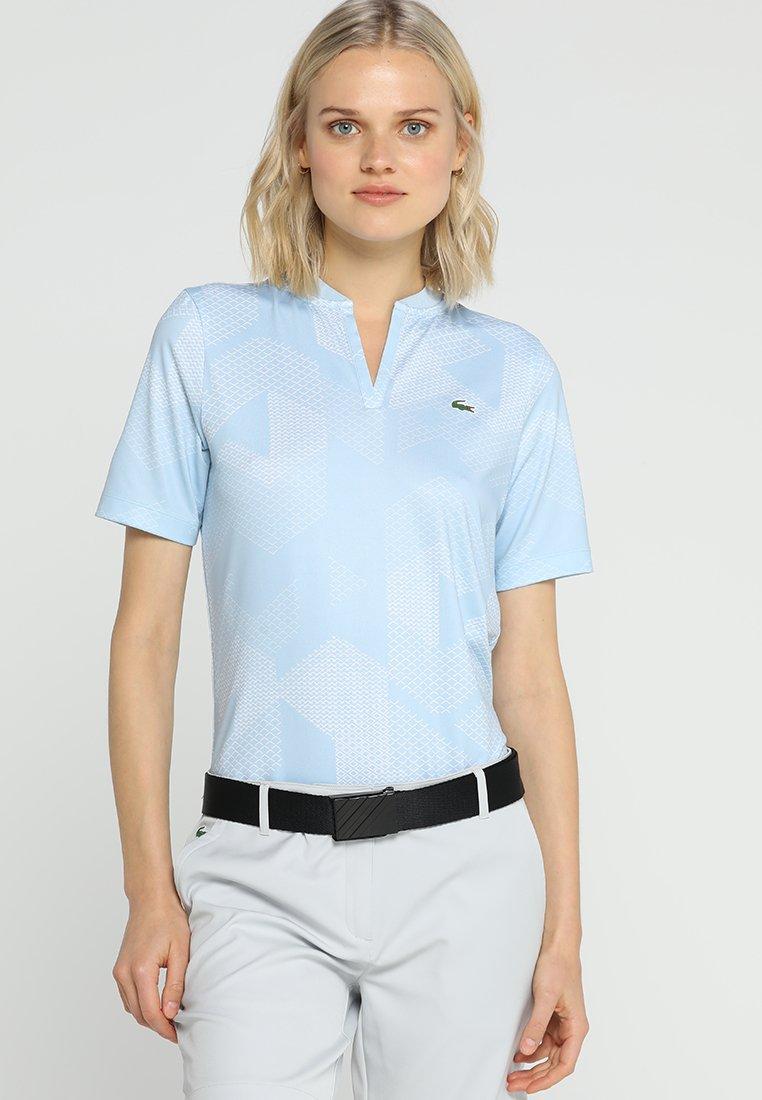 Lacoste Sport - GOLF GRAPHIC - T-Shirt print - dream blue/white