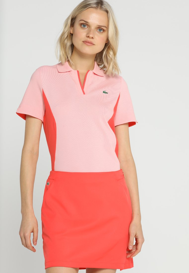 Lacoste Sport - GOLF PERFORMANCE - Poloshirt - bagatelle pink/mango tree red
