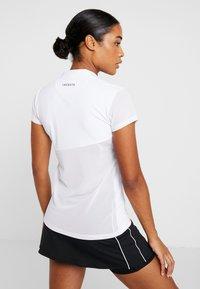 Lacoste Sport - TENNIS  - T-shirt med print - white/black - 2