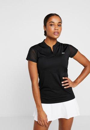 TENNIS  - T-shirt med print - black/white
