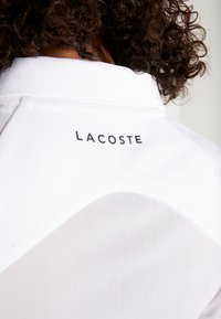 Lacoste Sport - TENNIS ZIP - Funktionströja - white/fluorescent/black - 6