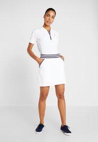 Lacoste Sport - Camiseta estampada - white/navy blue - 1