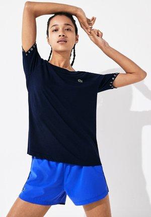 TENNIS  - Print T-shirt - bleu marine / bleu marine / blanc / bleu marine