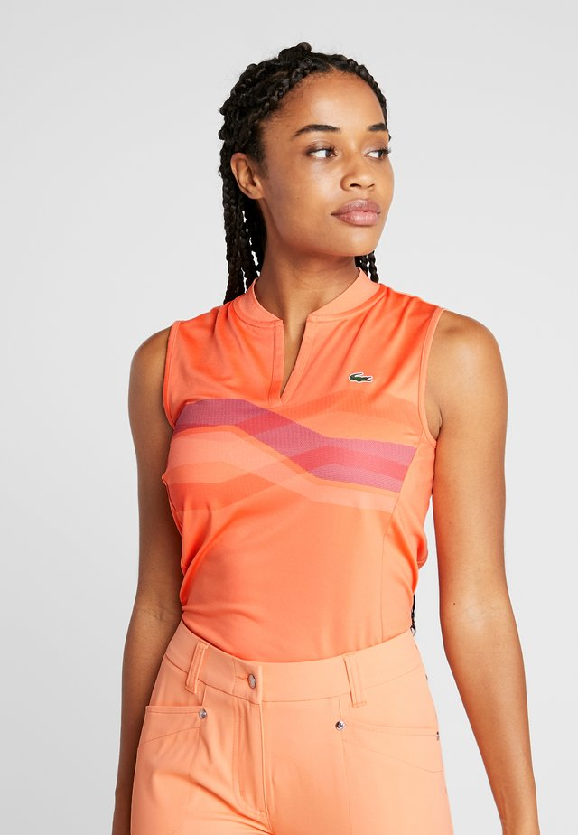 PF5181-00-503 - Sports shirt - orangeade/tanzanite/gladiolus white