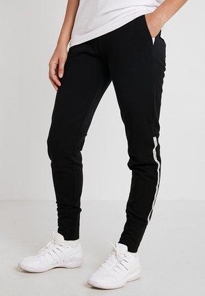 TENNIS JOGPANT - Pantalones deportivos - black/white