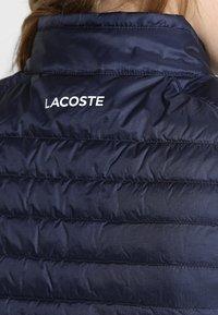 Lacoste Sport - Waistcoat - navy blue - 6