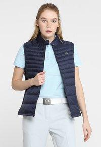 Lacoste Sport - Waistcoat - navy blue - 0