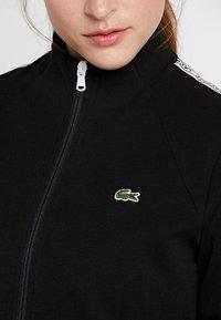 Lacoste Sport - TRACK JACKET - Träningsjacka - black/white - 7