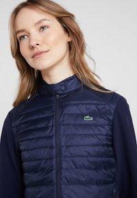 Lacoste Sport - Gewatteerde jas - navy blue - 3