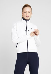 Lacoste Sport - TENNIS JACKET - Trainingsvest - white/navy blue - 0