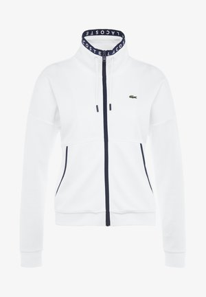 TENNIS JACKET - Kurtka sportowa - white/navy blue