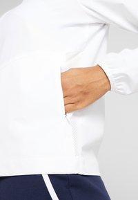 Lacoste Sport - TENNIS JACKET - Veste de survêtement - white - 5