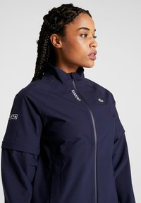 Lacoste Sport - HIGH PERFORMANCE JACKET 2 IN 1 - Blouson - navy blue/white - 4