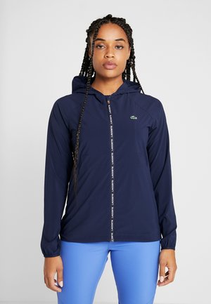 Windbreaker - navy blue/white