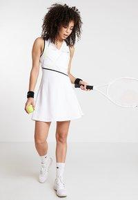 Lacoste Sport - TENNIS DRESS - Abbigliamento sportivo - white/black - 1