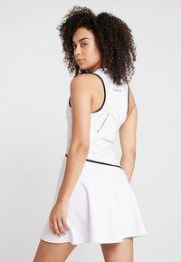 Lacoste Sport - TENNIS DRESS - Abbigliamento sportivo - white/black - 2