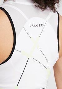 Lacoste Sport - TENNIS DRESS - Abbigliamento sportivo - white/black - 5